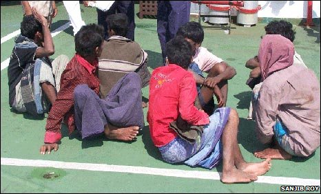 The migrants tell of secretive, brutal treatment by Thai security services