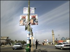 Baghdad prepares for Saturday's election