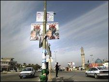 Baghdad prepares for Saturday's election