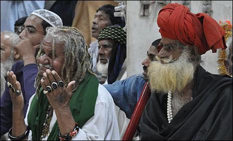 Sufi devotees in Lahore