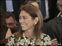 Débora Giorgi, ministra de Producción