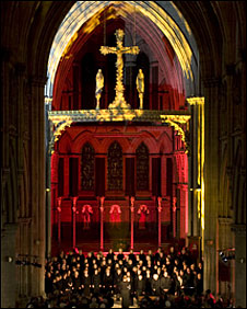 The Voice Project Choir performing in Norwich (Photo: Alexandra Bone)