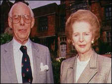 Denis and Margaret Thatcher