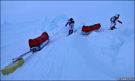 Arctic ice (Martin Hartley)