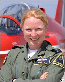 Flight Lt. Kirsty Moore