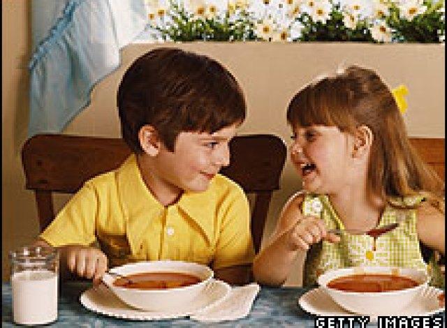 Image result for kids drinkingsoup
