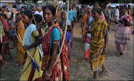 Tribespeople of Lalgarh