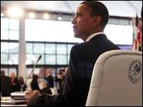 President Obama at G8 summit
