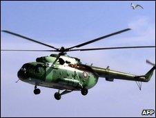 Russian-built Mi-8. File photo
