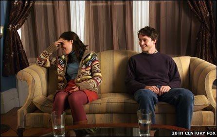 Rose Byrne and Hugh Dancy in Adam