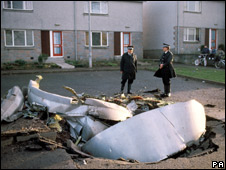 Lockerbie scene