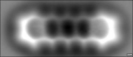 Pentacene molecule image (IBM)