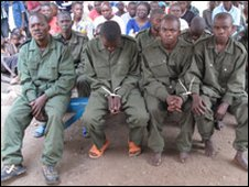 DR Congo soldiers on trial for rape