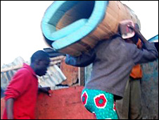 Residents moving out of Kibera