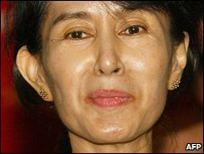 Burmese opposition leader Aung San Suu Kyi (6 May 2002)