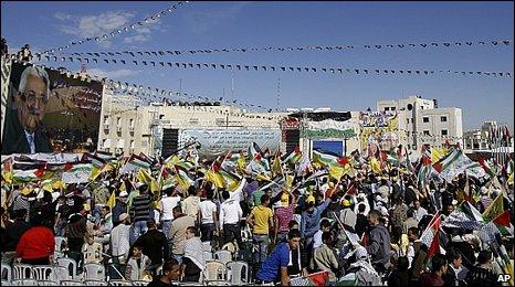 Rally in Ramallah, West Bank 11.11.09