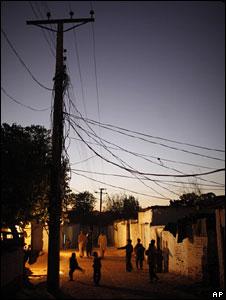 A poor neighbourhood in Pakistan