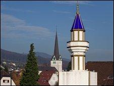 Swiss minaret