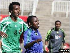 Eritrea playing Tanzania, 08/12