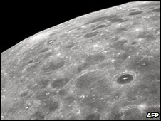 The Moon, seen from space. Earlier this year, Nasa deliberately crashed a rocket into its surface and discovered water vapour in the debris