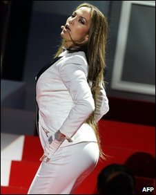 J Lo's derriere