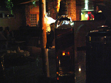 Bottle of Red Label at The Havanna Club in Juba