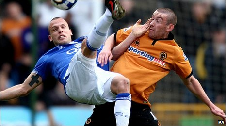 BBC Sport - Football - Wolves 0-0 Everton