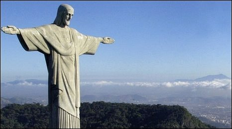 Christ the Redeemer statue, file pic