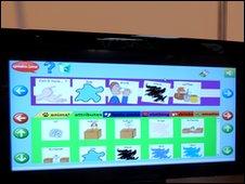 Photo of Speaks4Me screen