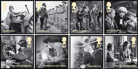 WW2 Stamps