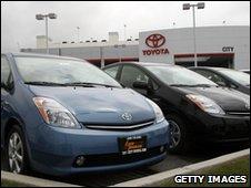 Toyota Prius bybrid cars