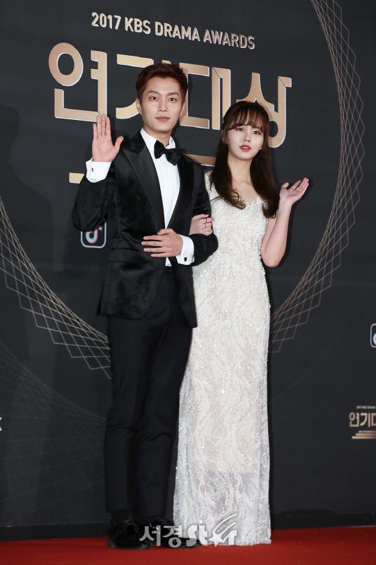 윤두준-김소현, '이 커플 두준두준하네~' (2017 KBS 연기대상)