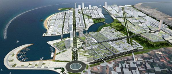 Work on mega multi billion dollar Port City to begin in Sri Lanka in October