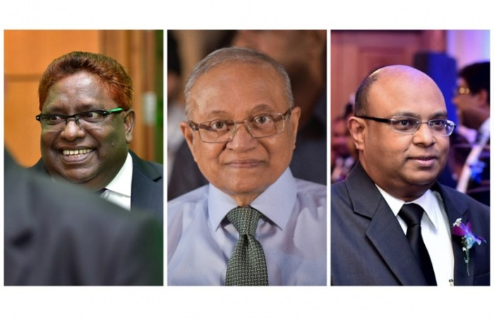 Former Maldivian Prez Gayoom and Justices Saeed and Hameed sentenced to 19 months in prison