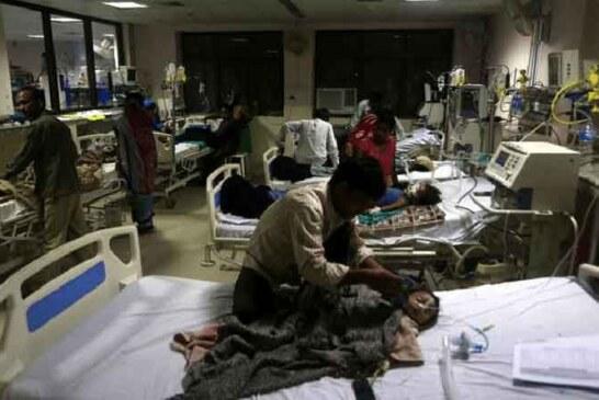 बाबा राघवदास मेडिकल कालेज में इस महीने हुई 290 बच्चों की मौत