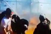 रेस कार से उड़ाया गया जलता ईंधन, 12 घायल