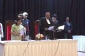 राज्यपाल ने नए मुख्य न्यायाधीश आर रंगनाथन को दिलाई पद की शपथ