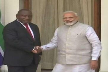 इस बार अफ्रीकी राष्ट्रपति रामफोसा होंगे गणतंत्र दिवस के मेहमान, पीएम मोदी से की मुलाकात