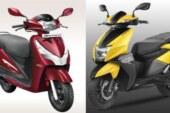 TVS Ntorq 125 और Hero Destini 125 में कौन है सबसे बेहतर, कीमत 60000 रुपये से कम