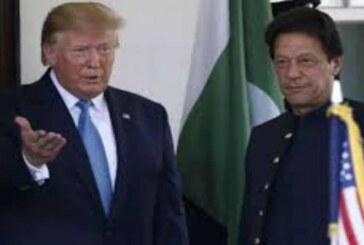 इमरान खान से मिले डोनाल्ड ट्रंप, कहा हम भारत और पाकिस्तान के संबंध में कश्मीर को लेकर सोच रहे