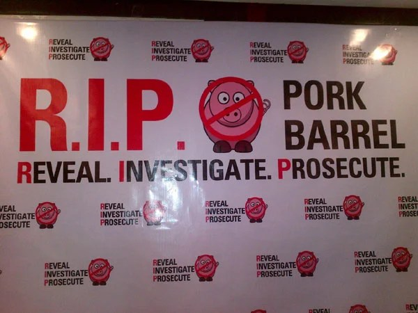 RIP pork barrel? Photo by MAILA AGER/INQUIRER.net