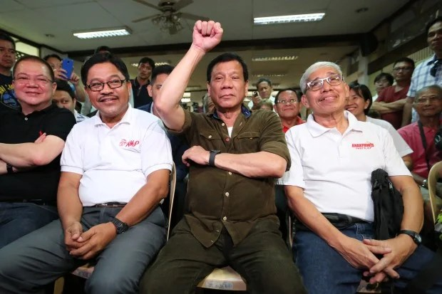 DUTERTE Now an official candidate and can campaign RAFFY LERMA