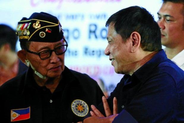 Rodrigo Duterte-Fidel V. Ramos-King Rodriguez-PPD
