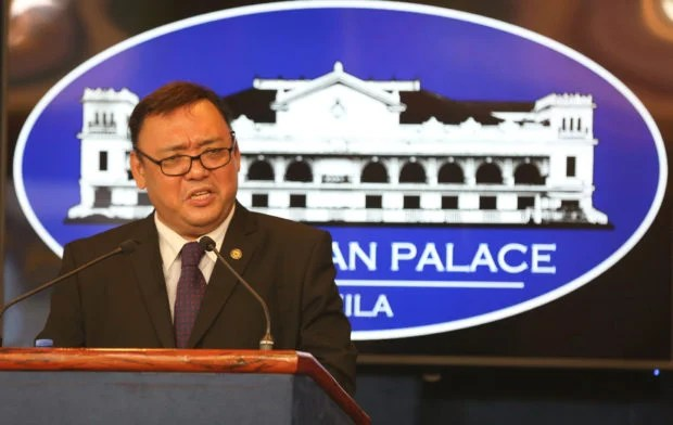 Image result for Harry Roque, photos