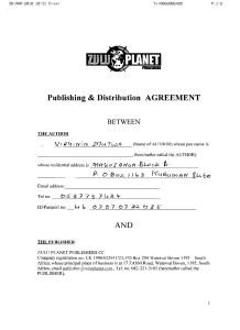 Credo Mutwa & Zulu Planet/Michael Tellinger Contract DVD copy