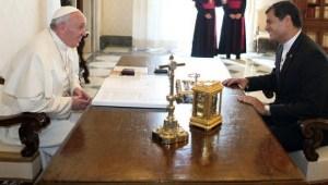 Guerra seismica de HAARP en Ecuador en avance de visita del Papa Francisco?