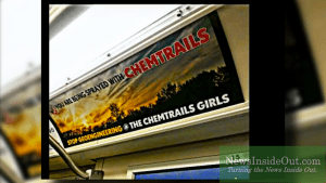 "Advertising Standards Canada, citing Harper government and environmentalist David Suzuki, concludes chemtrails are an ""unscientific theory"" and bans anti-chemtrails advertisements from Toronto subways"