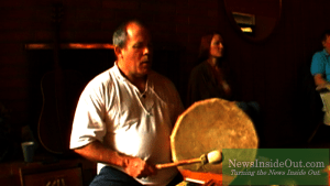 Matthew Kocel with Frame Drum