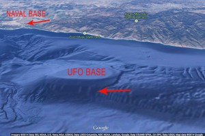 "MALIBU GOOGLE FALSE ""UFO BASE'"