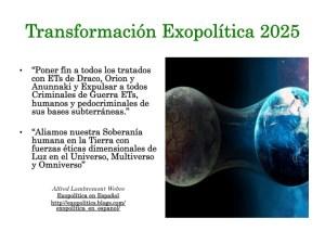 Transformacion Exopolitica 2025
